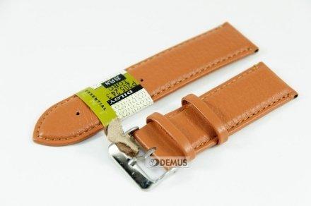 Pasek skórzany do zegarka - Diloy P205.24.3 - 24mm