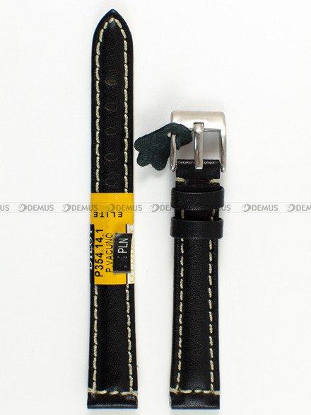 Pasek skórzany do zegarka - Diloy P354.14.1 - 14mm