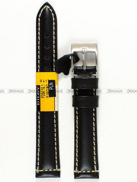 Pasek skórzany do zegarka - Diloy P354.16.1 - 16mm