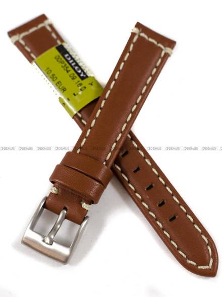 Pasek skórzany do zegarka - Diloy P354.16.9 - 16 mm