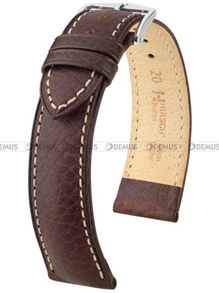 Pasek skórzany do zegarka - Hirsch Boston 01302010-2-24 - 24 mm