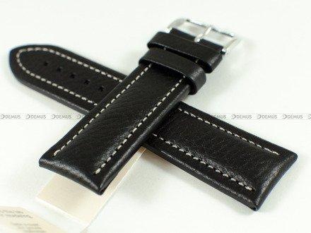 Pasek skórzany do zegarka - Hirsch Buffalo 11320250-2-24 - 24 mm