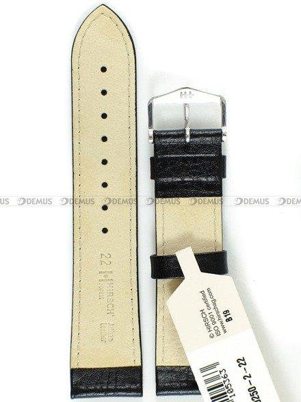 Pasek skórzany do zegarka - Hirsch Forest 17920250-2-22 - 22 mm