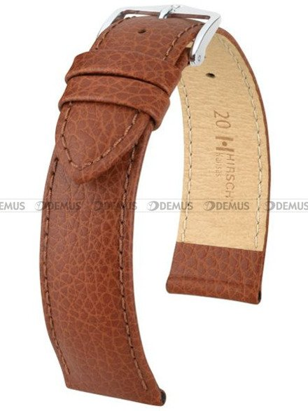 Pasek skórzany do zegarka - Hirsch Kansas 01502070-2-16 - 16 mm