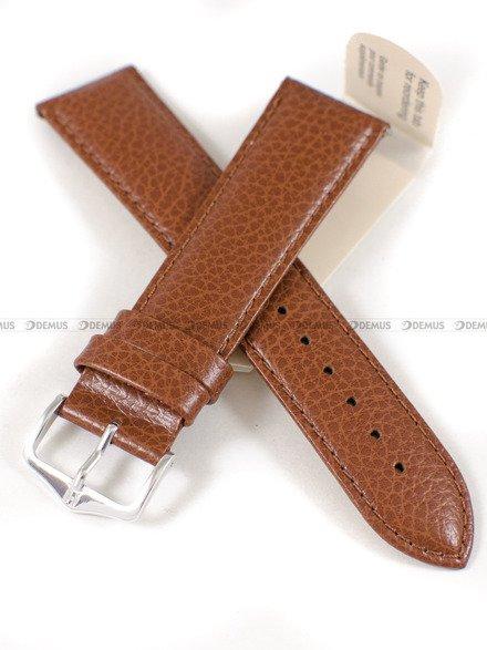 Pasek skórzany do zegarka - Hirsch Kansas 01502070-2-22 - 22 mm