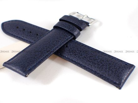 Pasek skórzany do zegarka - Hirsch Kansas 01502080-2-22 - 22 mm