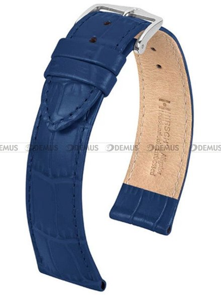 Pasek skórzany do zegarka - Hirsch Louisianalook 03427080-2-22 - 22 mm