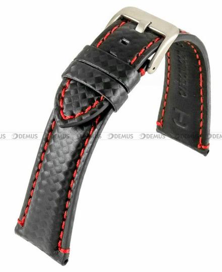 Pasek skórzany do zegarka - Horido 0167.01R.24S - 24 mm
