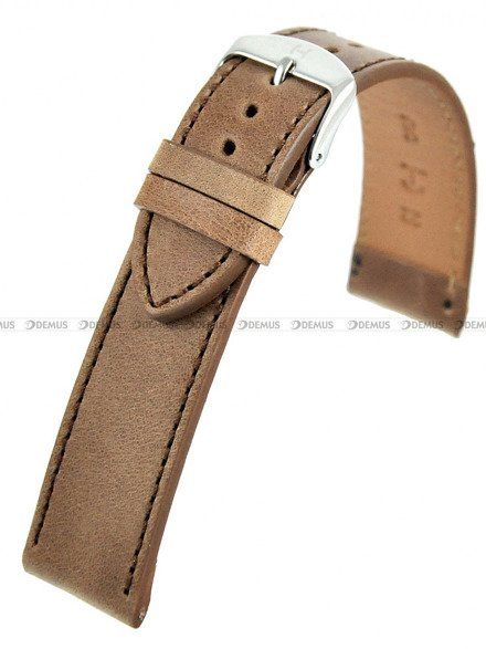 Pasek skórzany do zegarka - Horido 9201.03.20S - 20 mm