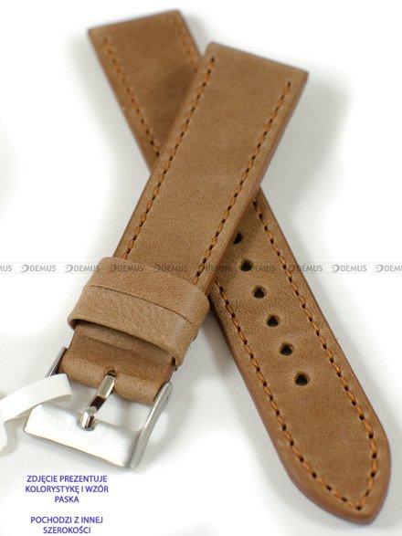 Pasek skórzany do zegarka - LAVVU LSAUE18 - 18 mm