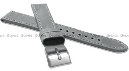 Pasek skórzany do zegarka - LAVVU LSAXA20 - 20 mm - XXL