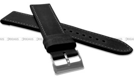 Pasek skórzany do zegarka - LAVVU LSAXB26 - 26 mm - XXL