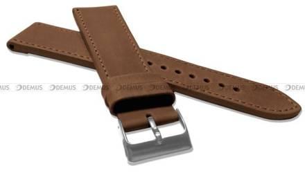 Pasek skórzany do zegarka - LAVVU LSAXE22 - 22 mm - XXL