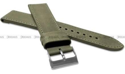 Pasek skórzany do zegarka - LAVVU LSAXG24 - 24 mm - XXL