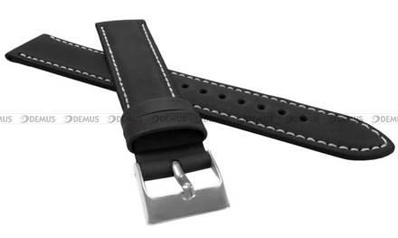 Pasek skórzany do zegarka - LAVVU LSBXB20 - 20 mm - XL