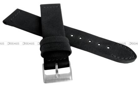 Pasek skórzany do zegarka - LAVVU LSLUB18 - 18 mm