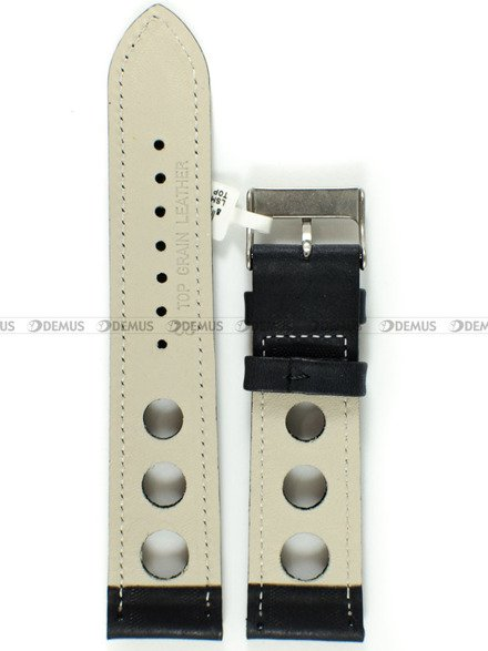 Pasek skórzany do zegarka - LAVVU LSMUB22 - 22 mm