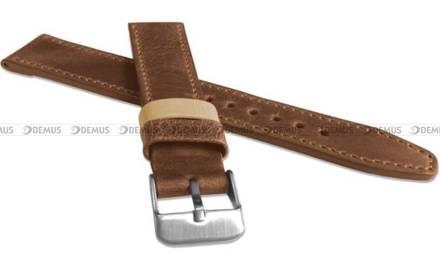 Pasek skórzany do zegarka - LAVVU LSOUE20 - 20 mm