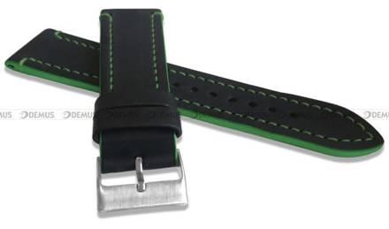 Pasek skórzany do zegarka - LAVVU LSPBG24 - 24 mm