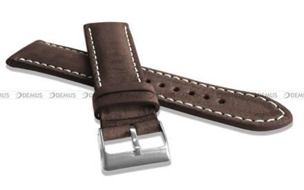 Pasek skórzany do zegarka - LAVVU LSRUC24 - 24 mm