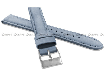 Pasek skórzany do zegarka - Minet MSNUJ18 - 18 mm