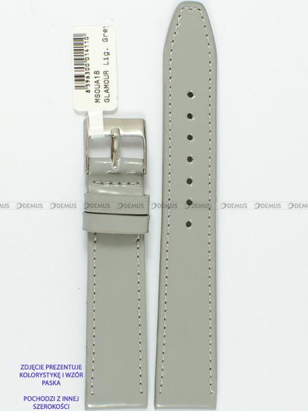 Pasek skórzany do zegarka - Minet MSOUA14 - 14 mm