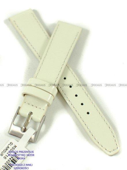 Pasek skórzany do zegarka - Minet MSOUI18 - 18 mm