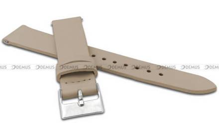Pasek skórzany do zegarka - Minet MSSEC20 - 20 mm