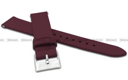 Pasek skórzany do zegarka - Minet MSSEV20 - 20 mm