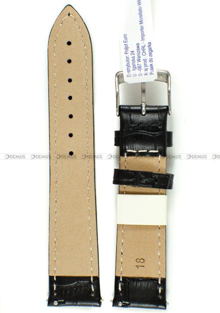 Pasek skórzany do zegarka - Morellato A01D5192480019CR18 - 18 mm