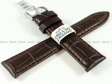 Pasek skórzany do zegarka - Morellato A01D5192480032CR18 - 18 mm