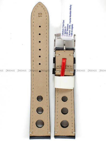 Pasek skórzany do zegarka - Morellato A01U3222679819CR18 - 18 mm