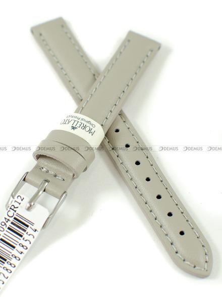 Pasek skórzany do zegarka - Morellato A01X0969087094CR12 - 12 mm