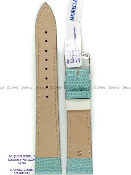 Pasek skórzany do zegarka - Morellato A01X3266773068CR14 - 14 mm
