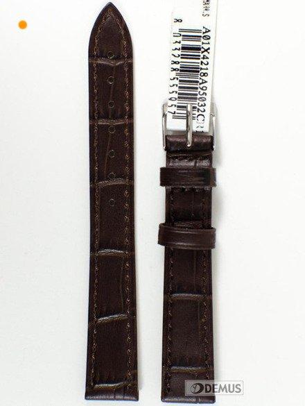Pasek skórzany do zegarka - Morellato A01X4218A95032 16 mm