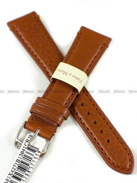 Pasek skórzany do zegarka - Morellato A01X4271B13041CR20 - 20 mm