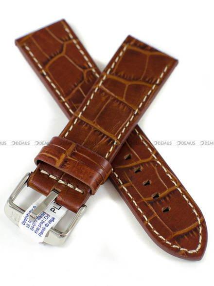 Pasek skórzany do zegarka - Morellato A01X4733480041CR24 - 24 mm