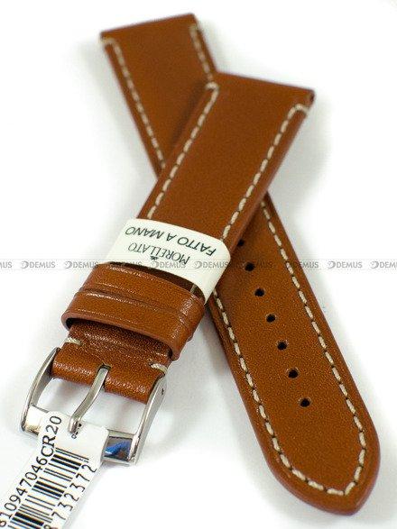 Pasek skórzany do zegarka - Morellato A01X4810947046 - 20 mm