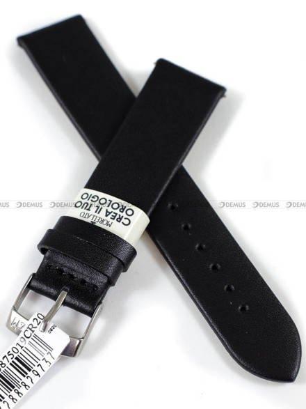 Pasek skórzany do zegarka - Morellato A01X5200875019CR20 - 20 mm