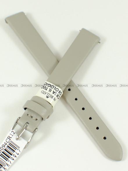 Pasek skórzany do zegarka - Morellato A01X5200875094CR12 - 12 mm