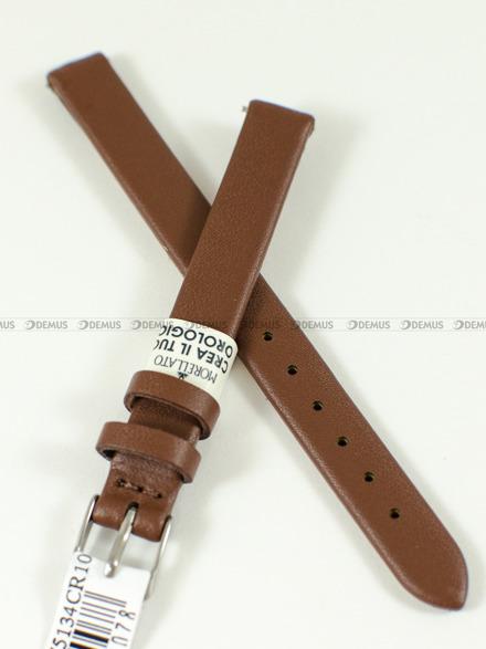 Pasek skórzany do zegarka - Morellato A01X5200875134CR10 - 10 mm