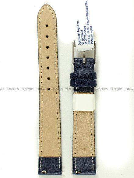 Pasek skórzany do zegarka - Morellato A01X5202875062CR14 - 14 mm