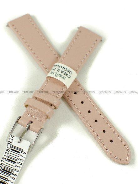 Pasek skórzany do zegarka - Morellato A01X5202875128CR14 - 14 mm