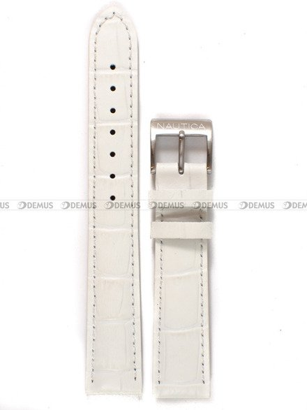 Pasek skórzany do zegarka Nautica A26527L - 18 mm