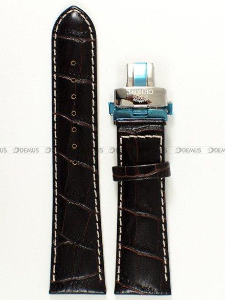 Pasek skórzany do zegarka - Orient CEZAD004B0 UDCYSSC - 24 mm