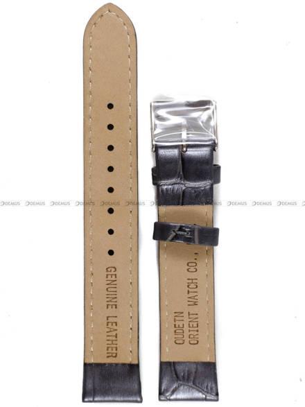 Pasek skórzany do zegarka Orient FDB0A005W0 - UDETNSA - 17 mm