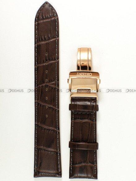 Pasek skórzany do zegarka Orient FET0T001W0 - UDEYDRC - 22 mm