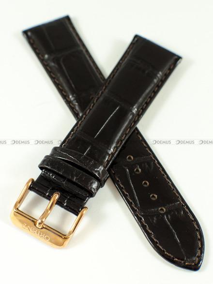 Pasek skórzany do zegarka Orient FEU0A001TH - UDEVHRT - 22 mm