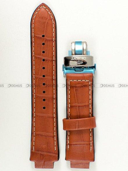 Pasek skórzany do zegarka - Orient FFM00004W0 UDDBASC - 14 mm