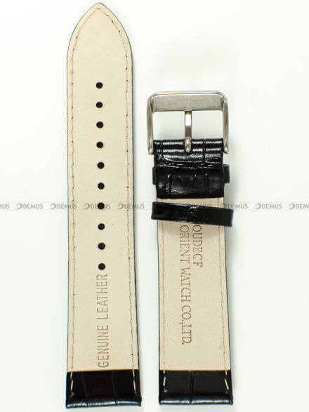 Pasek skórzany do zegarka Orient FUNE6002A0 - UDECFTB - 22 mm